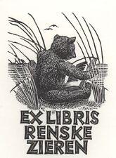 Ex Libris Mia Pot : Renske Zieren