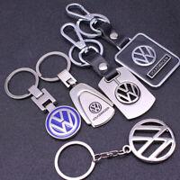Auto 3D Car Logo VW Keychain Metal Keyring Pendant Key Holder for Volkswagen