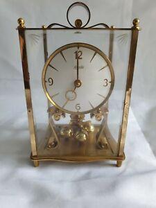 Antique KUNDO KIENINGER & OBERGFELL 400 DAY ANNIVERSARY CLOCK & KEY MID CENTURY