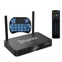 2021 new version superbox S2 pro 6k HD US CA tv box with mini keyboard