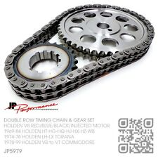 DOUBLE ROW TIMING CHAIN STEEL GEARS 253-308 V8 MOTOR HOLDEN HT-HG-HQ-HJ-HX-HZ-WB