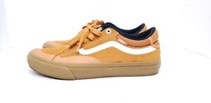 Vans Tony Trujillo Pro Old School Shoes Golden Suede Gum Skateboard Mens SZ 9.5
