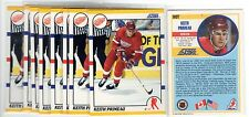 2X KEITH PRIMEAU 1990 91 Score Traded #90T RC Rookie 2 for.99 Lot NMMT