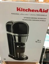 NEW KitchenAid Personal Coffee Maker + Travel Carafe Onyx Black KCM0402OB