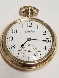 1904 Ball Waltham Official Standard M-1899 16s 17j RR Gf Pocket watch