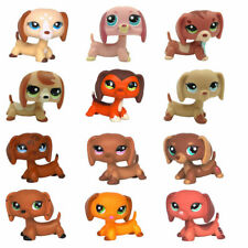 Pet Shop Dachshund Puppy Dog LPS Toys Rare Animals Collection Figure