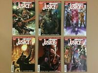 Justice Inc Comic Lot With Variants 1 variant 2 variant 3 4 variant 5 variant 6