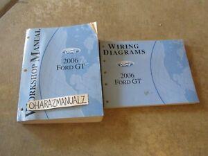 2006 FORD GT Wiring Diagrams & Service Manuals Manual Set OEM