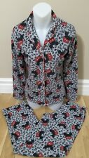 Disney micky mouse pajama set woman's XS