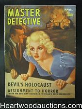 Master Detective April 1941 GGA Cvr, Snaring the Holywood Vulture