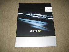 Volvo V70 Move Prospekt Brochure von 2005, 16 Seiten