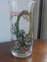 1982 Walt Disney/CocaCola Goofy as Marley's Ghost Glass