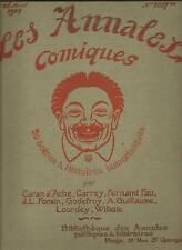 LES ANNALES COMIQUES 1904 DESSINS ET SCENES HUMORISTIQU