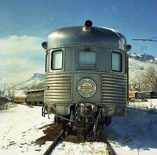 Nat'l Railway Historical Society Car - Orig Color Railroad Negative