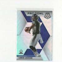 2020 Mosaic Pro Bowl Silver Prizm Lamar Jackson Parallel Card! #251 RAVENS MVP