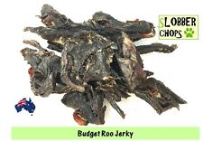 Kangaroo Jerky 1kg. (Roo jerky sheets) Quick snack for dogs