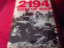 2194 Days of War Illustrated Chronology of WWII 752 Pages HC DJ