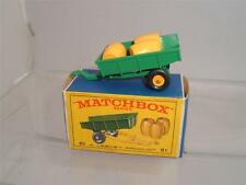 Matchbox Contemporary Manufacture Diecast Trailers