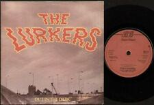 """LURKERS Out In The Dark  7"""" Ps, 4 Tracks Inc Cyanide/Suzie Is A Floozie/Cyanide-"""