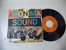 "ANONIMA SOUND(IVAN GRAZIANI)""PARLA TU-disco 45 giri CBS It 1968"" BEAT ItalyRARO"