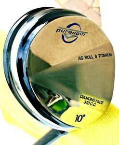 PURESPIN DIAMOND FACE 10 DEGREE DRIVER & STRAIGHT (FAT) SHAFT MADE WITH KEVLAR