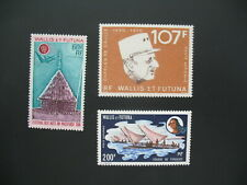 Wallis et Futuna  Stamps French Colonies   N° PA  42 / 43 / 48  neuf **  C: 82 €