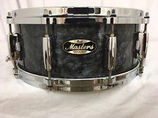 "Pearl Masters Mmg 14"" X 5.5"" Snare Drum/Black Diamond Pearl/#421/Maple-Gum/New"