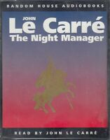 John Le Carre The Night Manager 4 Cassette Audio Book Abridged Thriller FASTPOST