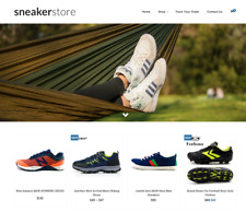 Sneakers Shoes Turnkey Website BUSINESS For Sale - Profitable DropShipping