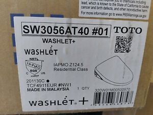 TOTO Washlet Bidet Elongated (SW3056at40#01) in Cotton Brand NEW