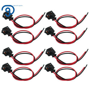 8x Fuel Injector Connector Harness For Chevrolet GMC 6.6L Duramax LLY LBZ LLM
