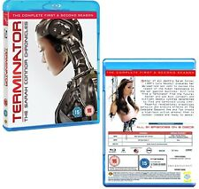 TERMINATOR: THE SARAH CONNOR CHRONICLES 1+2 2008: COMPLETE Series - NEW BLU-RAY