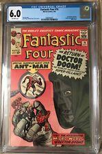 Fantastic Four 16 CGC 6.0 1st Quantum Realm Doctor Doom Ant-Man Marvel 1963
