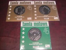 THE TEMPTATIONS & RUFFIN RARE MOTOWN/TAMLA AUDIOPHILE 45 SINGLE SERIES 3 TITLES