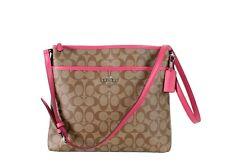 Coach Bag File Handbag Purse Shoulder Crossbody F58297 MINT $225