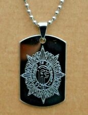IRISH ARMY DEFENCE FORCE CAP PERSONALISED DOG TAG GIFT ENGRAVED ANY NAME & NO.