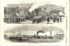 1855 Funeral Of Late Lord Raglan Cumberland Basin Clifton