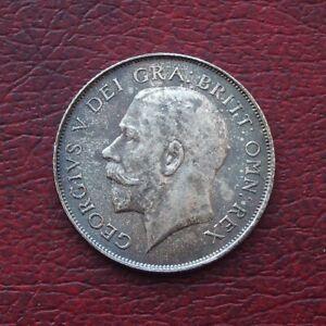 George V 1923 silver shilling