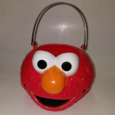 NEW Elmo Sesame Street Candy Bucket Pail Halloween Costume Easter Basket