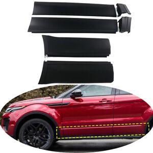 6PCS Front Rear Door Exterior Inlaid Panels Fit For Range Rover Evoque 2012-2019