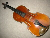 "Nice old 4/4 Violin violon, nicely flamed ""Mathias Wörnlein Mittenwald 1918"""
