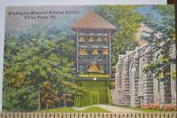 C 1940 Washington Memorial National Carillon - Valley Forge Pennsylvania PC