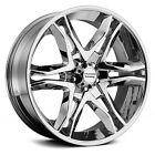 17 Inch Chrome Wheels Rims Chevy Silverado 1500 Truck Tahoe Suburban 6x5.5 Lug 4