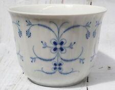 Echt Cobalt Inglasur Schumann Arzberg Germany Porcelain Pot Vase Blue & White