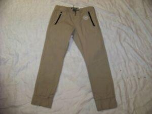Boys Levi's Denizen Khaki Jogger Pants - 10 Reg - New with Tags
