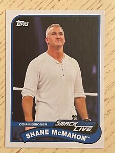 2018 Topps Heritage WWE Shane McMahon #71 Smack Down Live