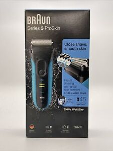 Braun Series 3 Proskin 3040s Wet & Dry Shaver efficiency & skin comfort New ‼️