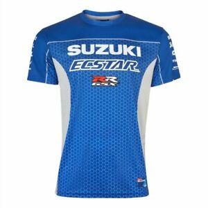 Suzuki Motogp Esctar Team Print T Shirt New Official Merchandise