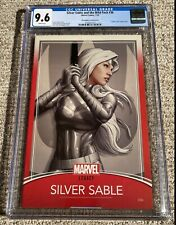 Silver Sable and the Wild Pack #36 - Marvel 2018 - CGC 9.6 NM+