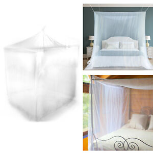 Box Shaped Mosquito Fly Canopy Net Netting For Single Double King Bed Camping